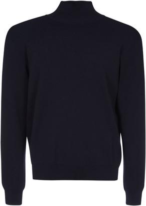 Jil Sander Turtleneck Ribbed Sweater