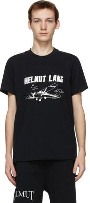 Helmut Lang SSENSE Exclusive Black Saintwoods Edition Plane T-Shirt