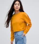 Miss Selfridge Petite Ruffle Sweater