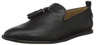 Hudson H Men's Comber Leather Loafers, (Black 01), 10 (44 EU)