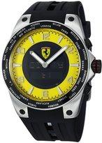 Ferrari Men's FE-05-ACC-YW 45mm Black Rubber Swiss Made Watch