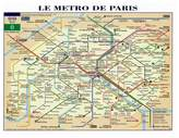 Art.com Le Metro de Paris