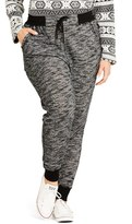 City Chic 'Track Time' Pants (Plus Size)