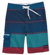 Billabong Toddler Boy's All Day Og Stripe Board Shorts
