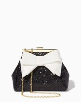 Charming charlie Glitter 'N Bows Evening Bag