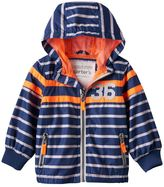 Carter's Toddler Boy Striped Hooded Lightweight Jacket