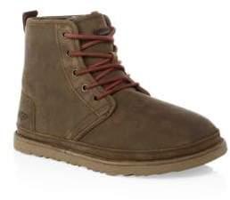 UGG Men's Dyed Fur Suede Boots - Chestnut - Size 12