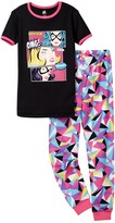 Petit Lem Do You Hear That? Comic Pajama - 2-Piece Set (Little Girls & Big Girls)