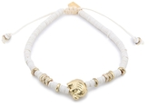 Chan Luu The Last Animals Double Strand Elephant Charm Bracelet