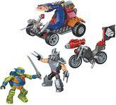 Mega Bloks Teenage Mutant Ninja Turtles Leo vs. Shredder Showdown Set