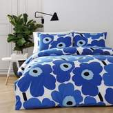 Marimekko Unikko King Comforter Set in Blue
