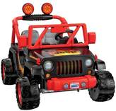 Fisher-Price Power Wheels Tough Talking Jeep - Black/Orange