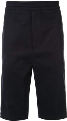 Neil Barrett side stripe shorts