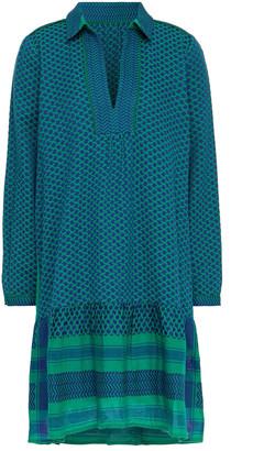 Cecilie Copenhagen Lynette Crochet-trimmed Cotton-jacquard Dress