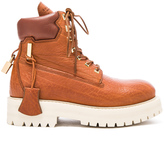 Buscemi Leather Site Boots