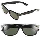 Ray-Ban Men's 'New Wayfarer' 55Mm Sunglasses - Black/ Green