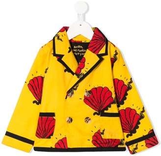 Mini Rodini Shell printed jacket