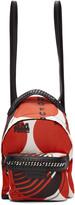 Stella McCartney Red 'Thanks Girls' Mini Falabella GO Backpack
