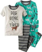 Carter's 4-pc. Cotton Pajama Set - Toddler Boys 2t-5t