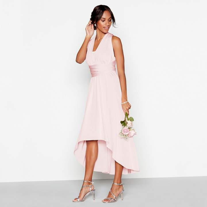 Debut - Blush Multiway High Low Dress