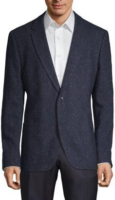 HUGO BOSS Standard-Fit Wool-Blend Sportcoat