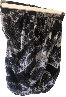 By Zoé Black Silk Skirt for Women