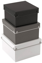 Design Ideas Frisco Boxes (Set of 3)