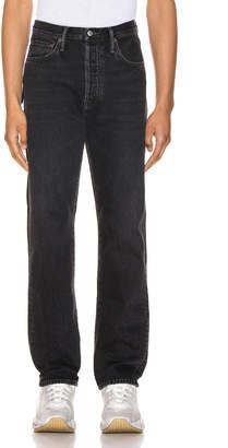 Acne Studios 1996 Metal 5 Pocket Denim Jeans in Used Black | FWRD