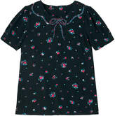 Cath Kidston Scattered Sprigs Top with Sequin Collar
