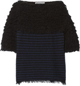 Thakoon textured cotton-blend sweater