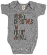 Buzz Shirts Merry Christmas Ya Filthy Animal Girls & Boys Unisex Christmas Baby Grow bébé grandir