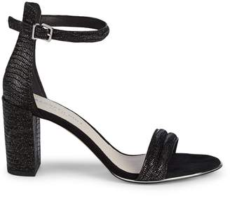 Kenneth Cole New York Lex Ankle-Strap Leather Sandals