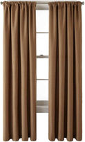 JCP HOME JCPenney HomeTM Monroe Tweed Rod-Pocket/Back-Tab Curtain Panel