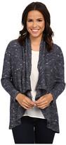 NYDJ Novelty Boucle Cascade Knit Cardigan