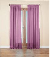 HOME Unlined Voile Panels - 152x228cm - Purple