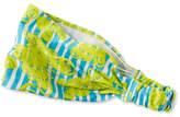 L.L. Bean Girls' Unshrinkable Knit Headband, Print