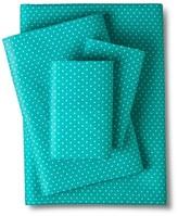Nobrand No Brand Grand Dot Sheet Set - Light Blue (Twin)