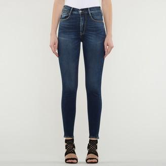 Le Temps Des Cerises High Waist Push-Up Jeans in Cotton