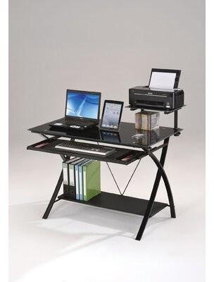 Ebern Designs Groh Glass Desk