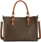Calvin Klein Bag-In-Bag Medium Satchel