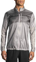 Brooks Oyster & Asphalt Stripe LSD Jacket