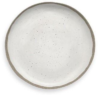 Indigo Studio Melamine Dinner Plate Ivory