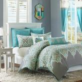 Madison Park Nisha Teal Comforter Set - Twin