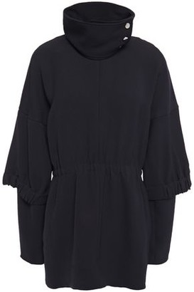 Tibi Gathered Crepe Top