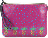 Patricia Nash Polka-Dot Pineapple Cassini Wristlet
