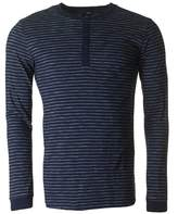 Edwin Oarsman Striped Henley T-shirt