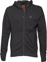 Luke 1977 Mens Delta Zip Through Hoody Marl Charcoal