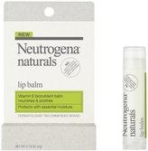 Neutrogena Naturals Lip Balm, 0.009375-Pound (Pack of 3)