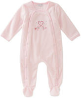 Absorba Light Pink Love Birds Footie - Infant