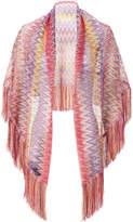 Missoni Open Weave Fringe Caftan